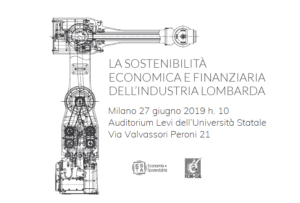 La sostenibilità economica e finanziara dell'industria lombarda