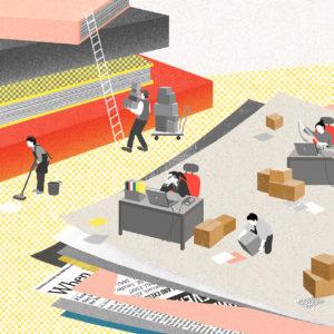 L'efficienza della distribuzione libraria indipendente