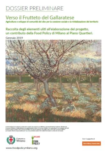 Frutteto Gallaratese - copertina