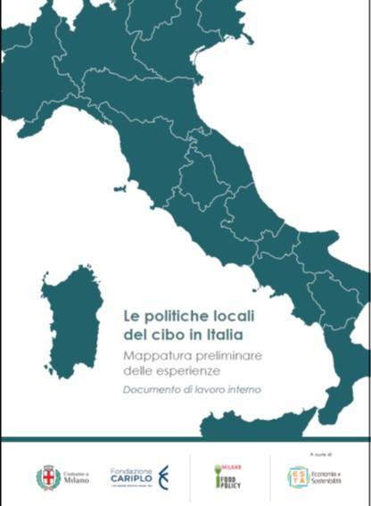 Le politiche locali del cibo in Italia - copertina